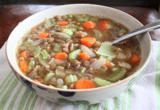 Vegan Lentil Soup 01