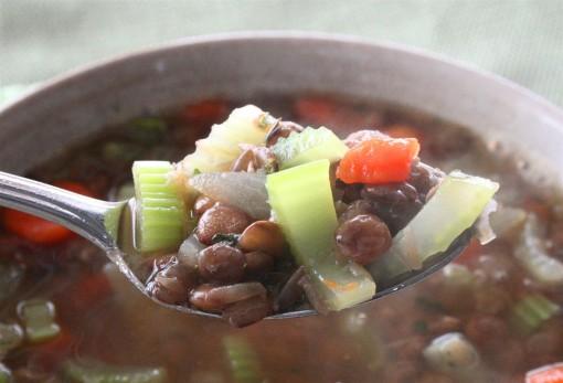 Vegan Lentil Soup 02