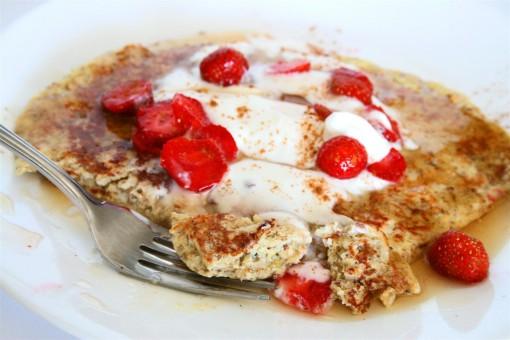pancakes raspberry oatmeal protein raspberry oatmeal protein ...
