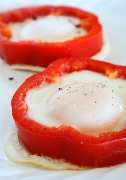 Red Pepper Eggs 01