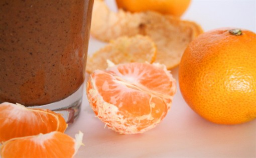 Chocolate Orange Protein Smoothie 008