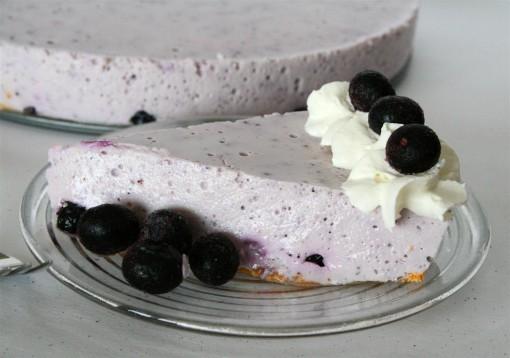 Blueberry No-Bake Cheesecake 001