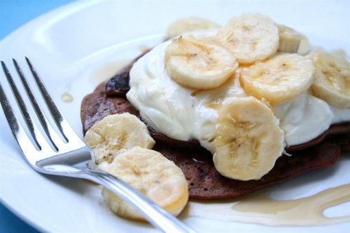 Chocolate Banana Protein Pancake 04