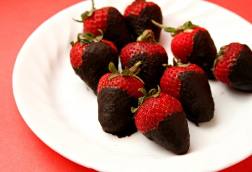Sugar Free Chocolate Covered Strawberries 03
