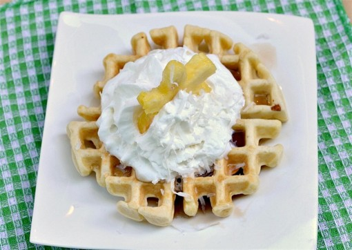 Coconut Waffle 03