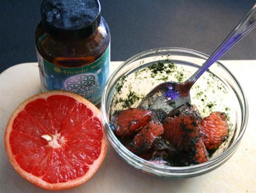 Algae and grapefruit 01