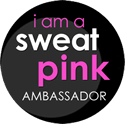 Fit Approach Sweat Pink Ambassador Badge
