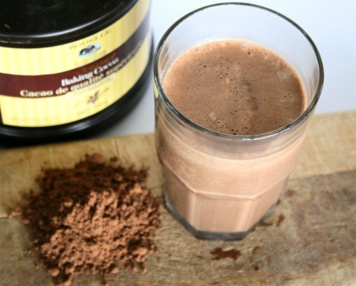 Dark Chocolate Protein Shake 03