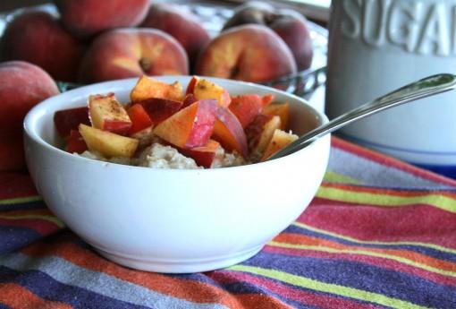 Peach Protein Oatmeal 04