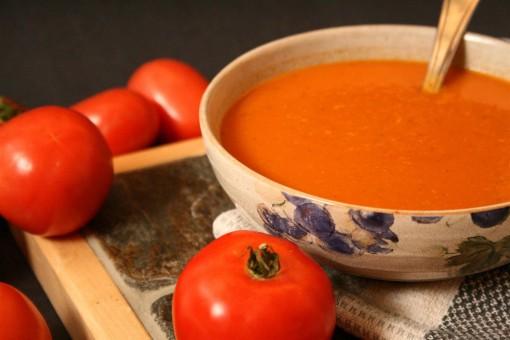 Creamy Vegan Tomato Soup 01