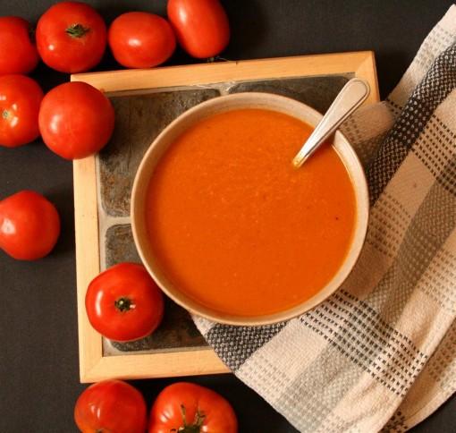 Creamy Vegan Tomato Soup 04