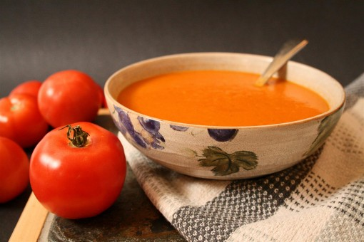 Creamy Vegan Tomato Soup 05