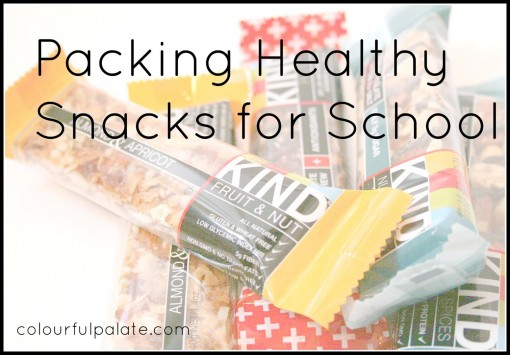 Packing Healthy Snacks for School
