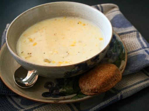 Creamy Corn Chowder 01