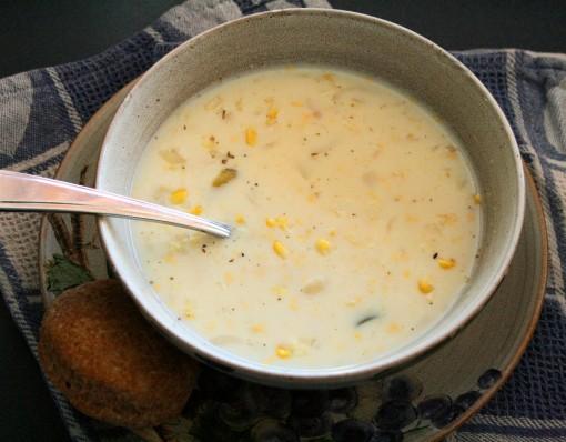 Creamy Corn Chowder 03