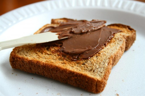 Chocolate on Toast