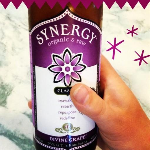 Synergy Grape Kombucha