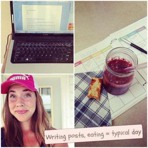 Writing recipes and eating - what I do best