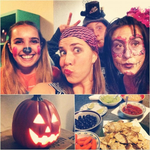 Healthy Halloween with Friends