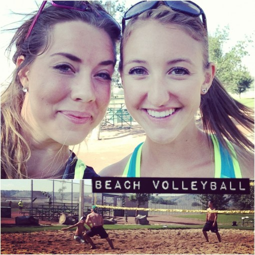 Volleyball with Friends