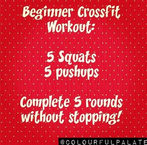 Beginner Cross Fit Workout