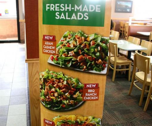 Wendys new salads