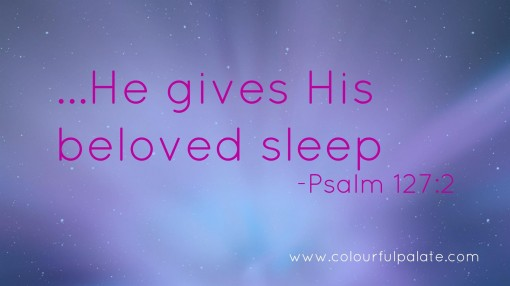 He Gives His Beloved Sleep