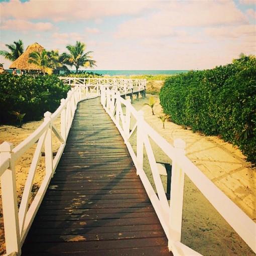 Road to the White Beaches