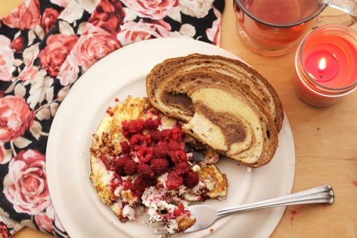 Healthy Valentine's Breakfast