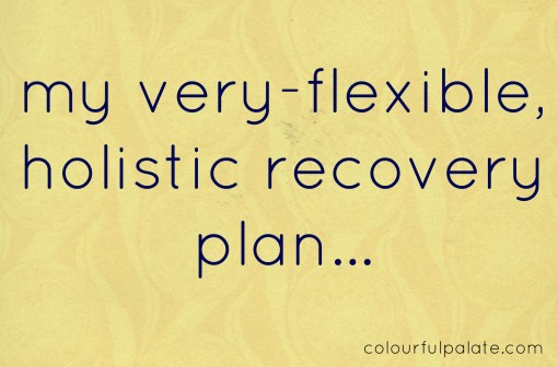 my very flexible holistic recovery plan2