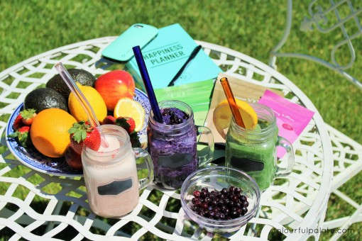 Colourful Smoothie Challenge