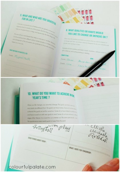 Inside the Happiness Planner