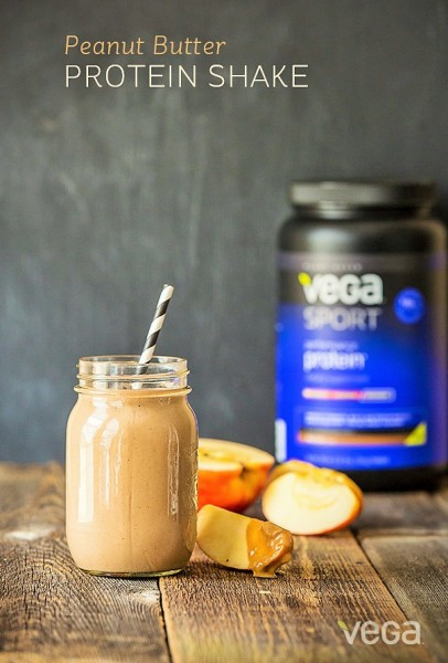 Peanut-Butter-Protein-Shake-by Vega Sport