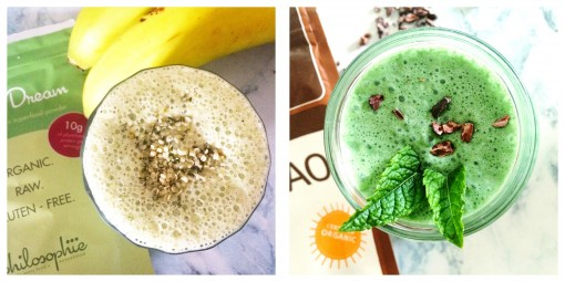 Smoothies you can make in the food processor