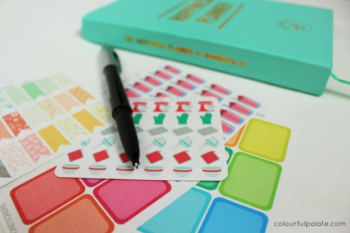Station Stickers and the Happiness Planner