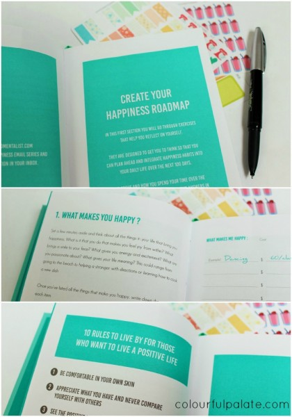 What the Happiness Planner Looks Like
