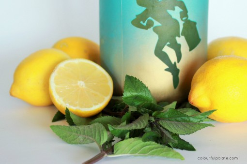 Lemon and Mint Sipper - the ultimate refresher, great for weight loss, detoxing, and yummy!