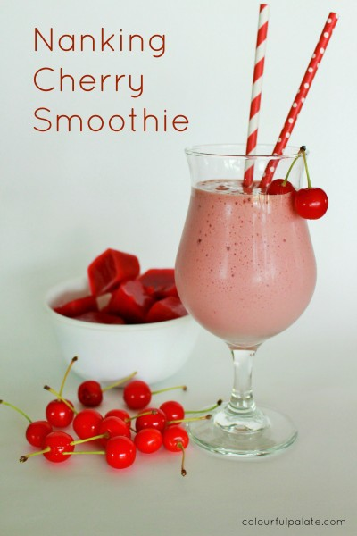 Nanking Sour Cherry Smoothie