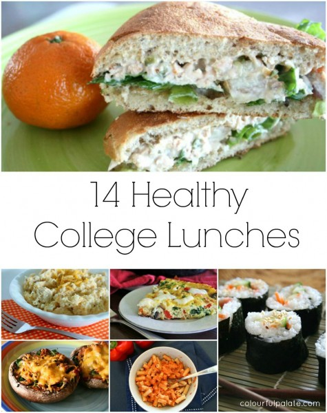 14 Healthy College Lunches by Colourful Palate