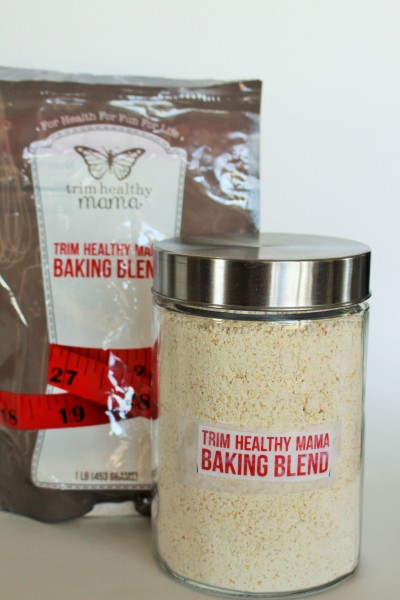 The Trim Healthy Mama baking blend is something I really love - from microwave muffins to cakes and breads. It's low carb and so good for you!