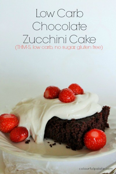 Low Carb Zucchini Cake