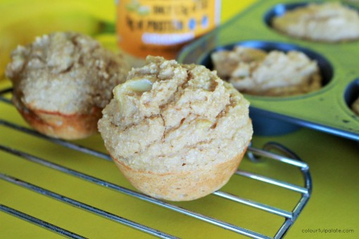 PB and Banana Muffin recipe for the low carbers and gluten free
