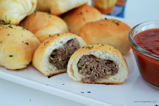 Fluffy Meatball Rolls for a Holiday Appetizer