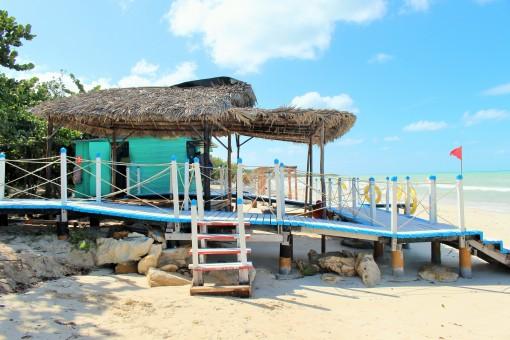 Beach in Caya Coco Cuba