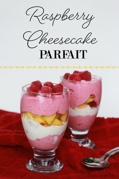 Raspberry Cheesecake Parfait Recipe