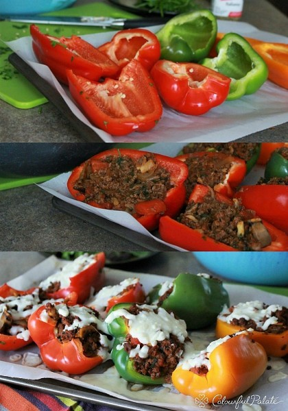 How to Make Italian Stuffed Peppers Low Carb to satisfy those pasta cravings WITHOUT having any pasta!